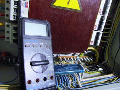 Сопротивление изоляции кабеля 0,4 кВ.