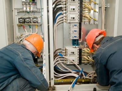 Производство электромонтажных работ