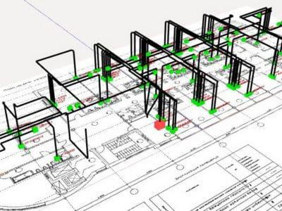 Указания в проекте по электроснабжению для специалистов.